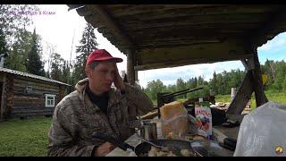 Везём стройматериалы на первую избу. 3 серия /Вкусный завтрак на природе/
