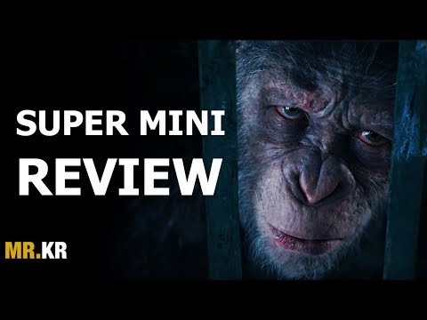War for the Planet of the Apes - SUPER MINI REVIEW (Spoiler Free)