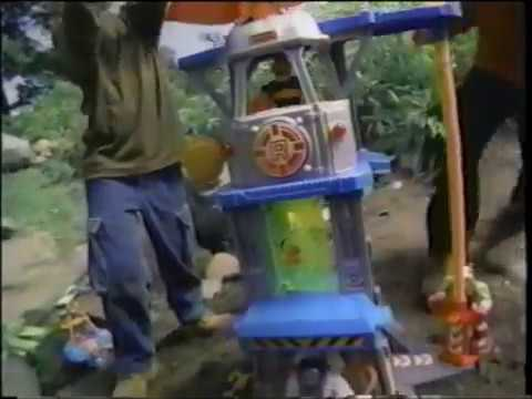 Rescue Heroes  - Command Center -  Action Figure  - Playset  - Commercial (1999)