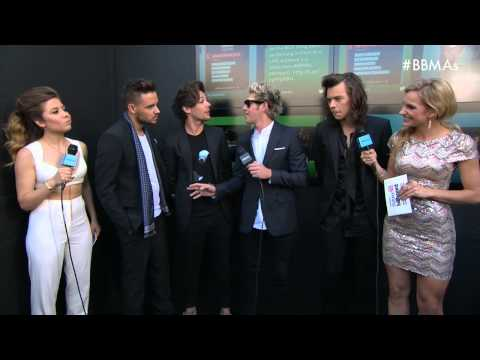 One Direction Red Carpet Interview - BBMA 2015
