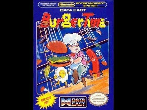 NES BurgerTime Video Walkthrough