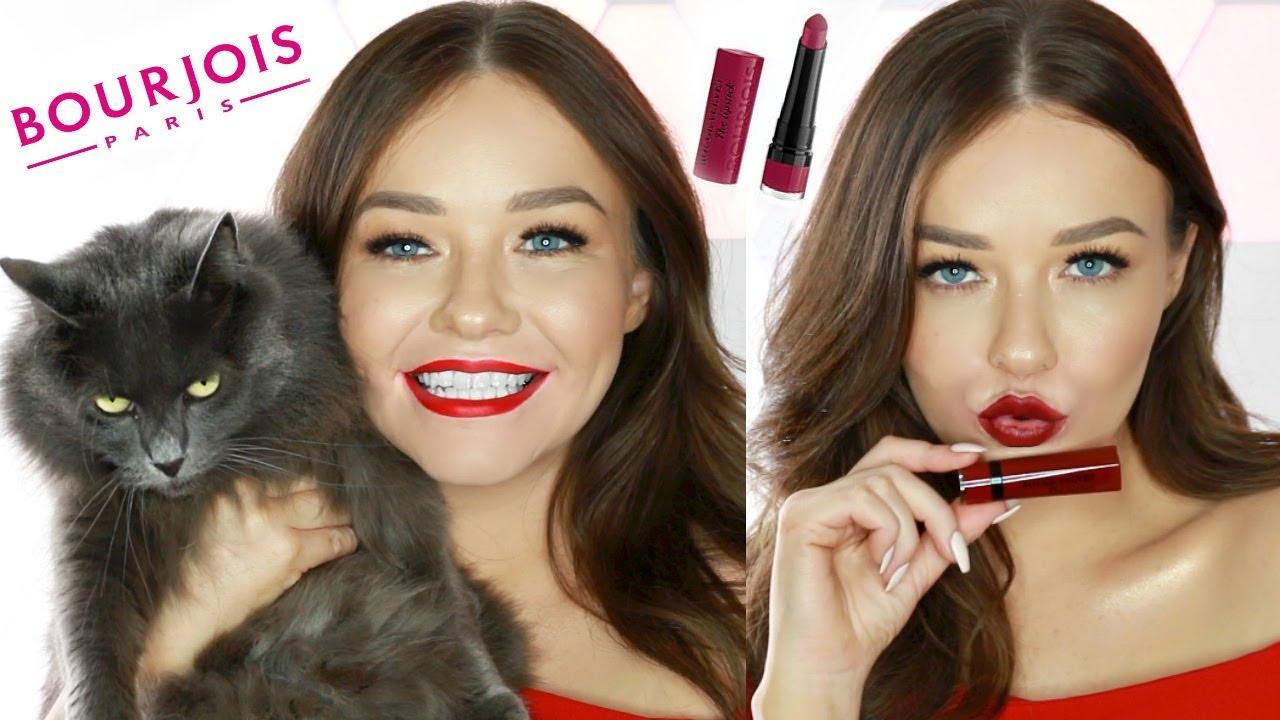 Bourjois Rouge Velvet The Lipstick Review All Shades Lip