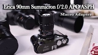 MACRO PHOTOGRAPHY - LEICA APO 90MM SUMMICRON-M F/2.0 ASPH LENS - MACRO ADAPTER - PRODUCT PHOTOGRAPHY