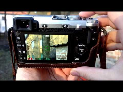 Fuji X-E1 vs X-E2 autofocus test XF 18-55mm F2.8-4 R LM OIS