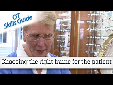 OT skills guide: Choosing the right frame for the patient