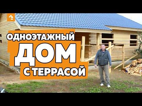 Строительство дома из профилированного бруса в СпБ за 16 дней.  Cтр-во загородного дома.  Выпуск 3