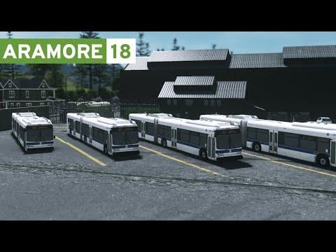 Cities Skylines: Aramore (Episode 18) - Bus Depot, City Hall, High School