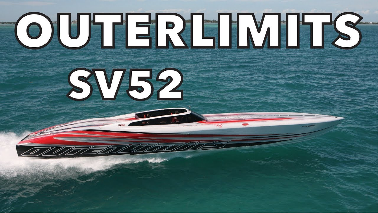 OUTERLIMITS 2013 SV52 POWERBOAT!