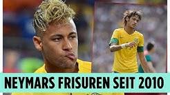 Neymars Frisuren! Von 2010 bis heute