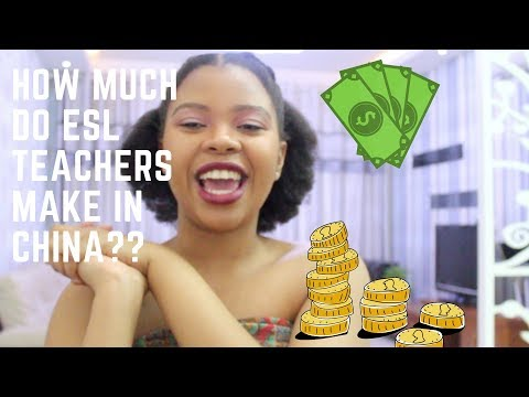 Teaching salaries in China | Financial management | South African Youtuber