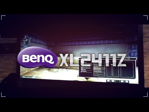 BenQ XL2411Z ► Unboxing and Quick-Test