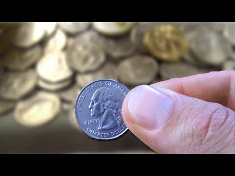 found a quarter