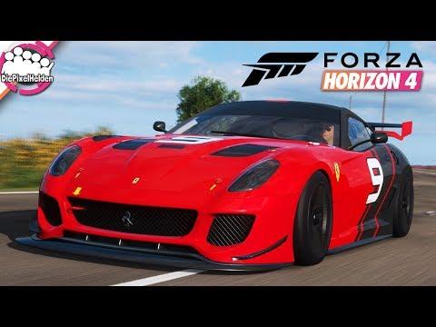 FORZA HORIZON 4 #97 - Tuning am Rennwagen? Der 599XX macht es möglich - Let's Play Forza Horizon 4