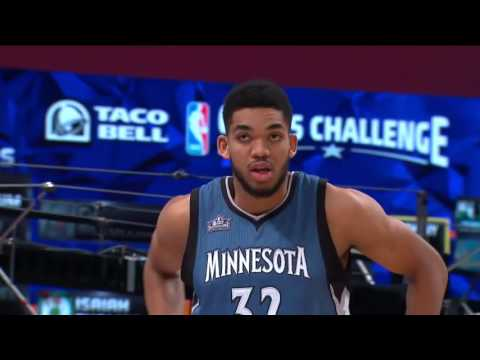 NBA Skills Challenge Recap | February 13, 2016 | NBA All-Star 2016