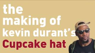 How Kevin Durant s famous cupcake hat is made ESPN