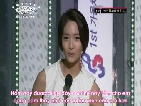 [JessicaVN.net][Vietsub][120222] Gaon Music Award - SNSD Artist of the Year Album