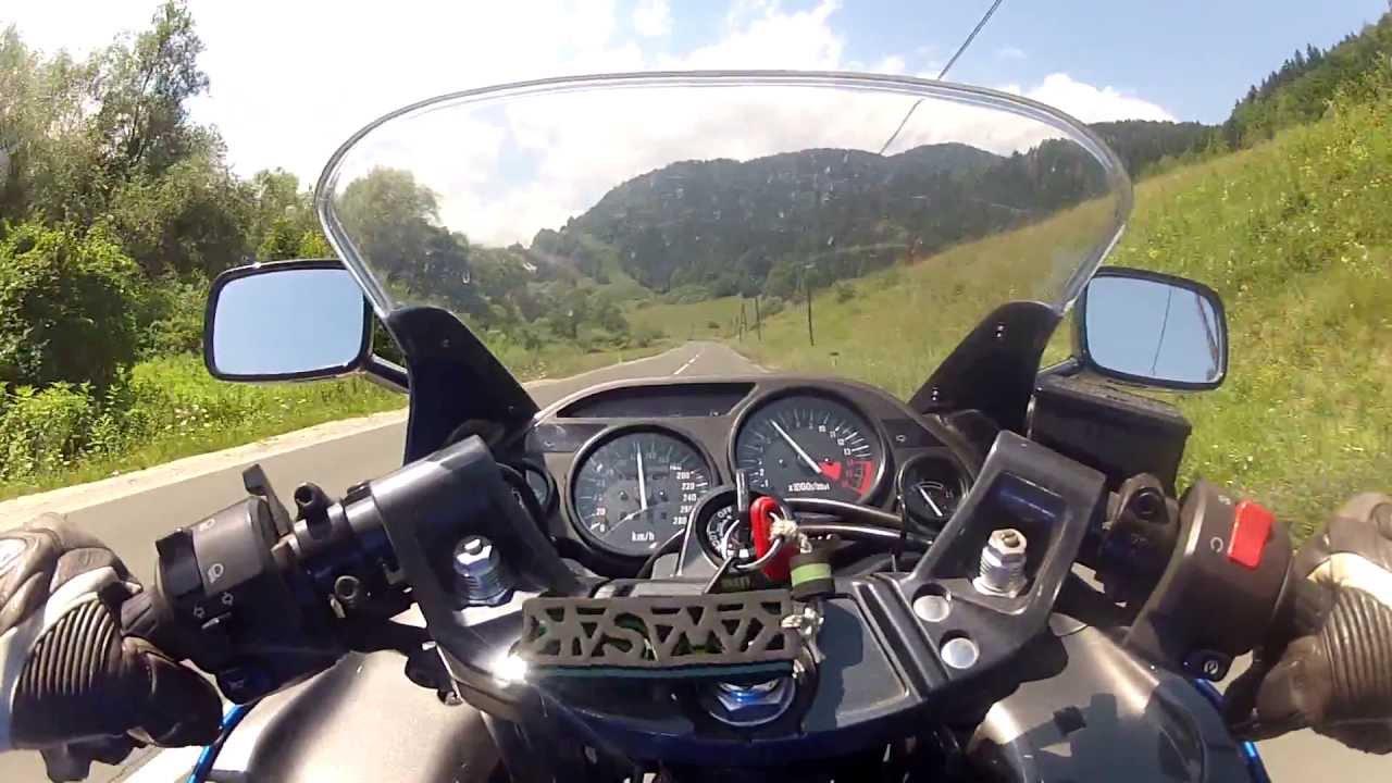 Kawasaki ZZR 600 Onboard