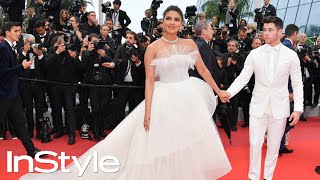 Priyanka Chopra Looked Like a Bride During Her Cannes Debut with Nick Jonas | InStyle