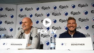 Se hele pressemødet med Nicklas Bendtner og Ståle Solbakken