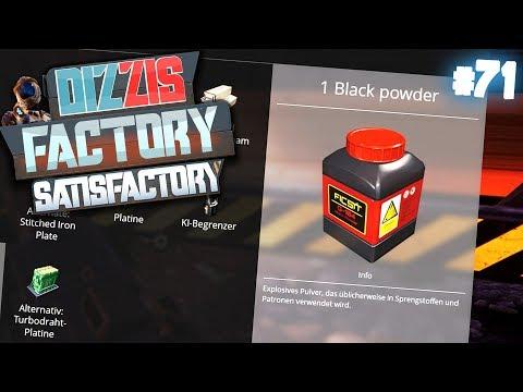 UNENDLICH SCHWARZPULVER FÜR TNT | Let's Play Satisfactory / Dizzis Factory #71 | izzi & Dner
