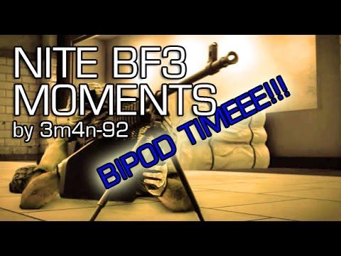 NITE BF3 MOMENTS -  Bipod Champ & Karaoke Time!