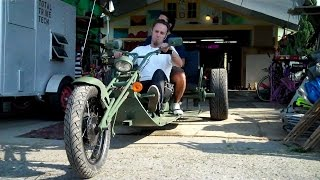 vw trike build 12 its finished