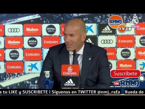Rueda de prensa de ZIDANE post Real Madrid 2-1 Eibar Jornada 31 (06/04/19)