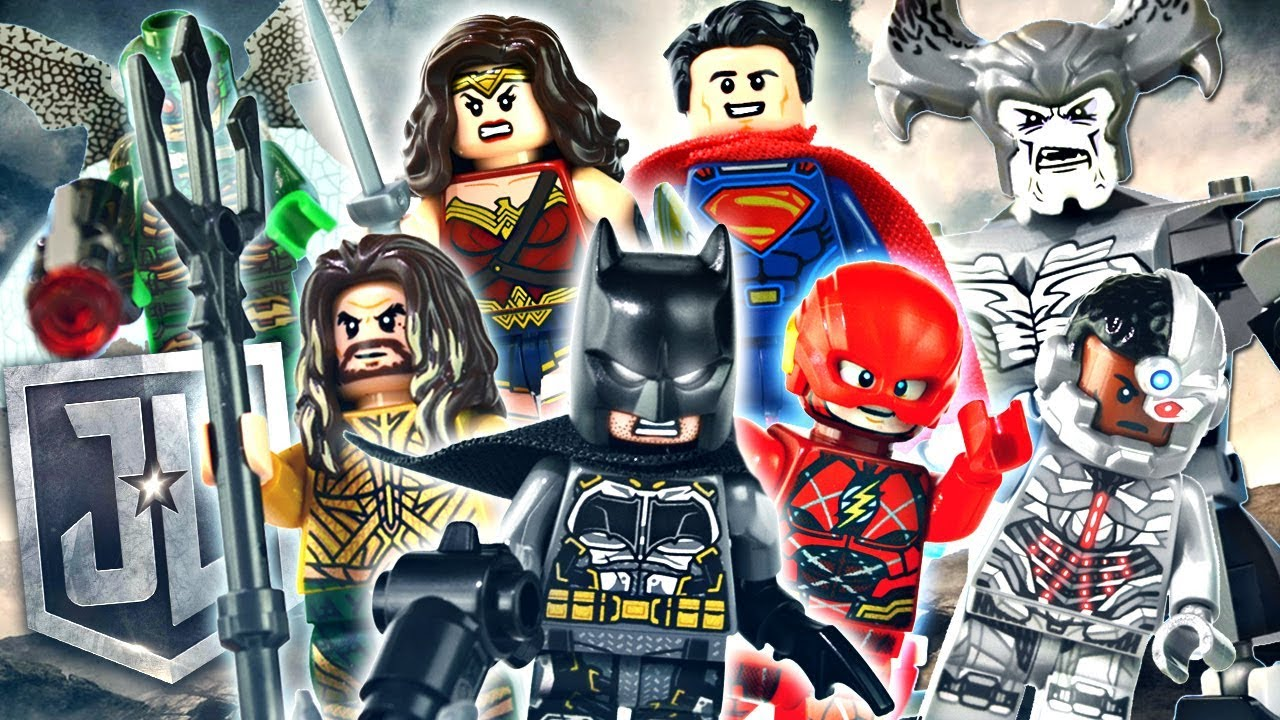 Lego Dc Justice League 2017 Minifigures Review Youtube