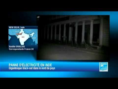 Inde - Jusqu'à 300 millions d'Indiens privés d'électricité après une panne géante