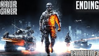 battlefield 3: Gameplay - ENDING - part 13 - the great destroyer -mission 12(PC)(HD) Ultra settings