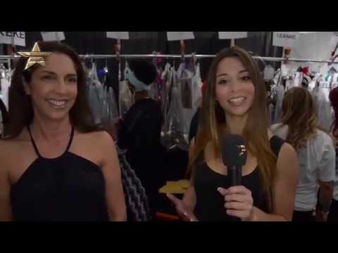 AGUACLARA Mercedes Benz Fashion Week Miami Swim 2015 Collections | BACKSTAGE