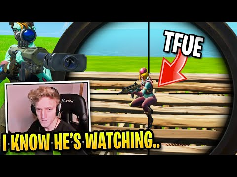 Tfue Gets REVENGE on Every Stream Sniper in Solo Cash Cup...