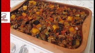 Fırında Patlıcanlı Kebab Tarifi -Enfes Yemek Tarifleri