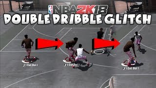 HOW TO DOUBLE DRIBBLE NBA 2K18 🧀🧀 2K16 TRAVEL GLITCH IS BACK!