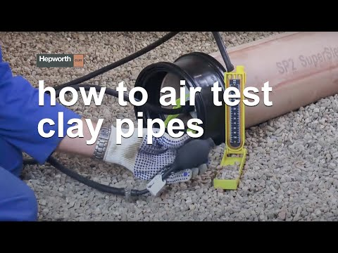 How To Air Test Clay Pipes