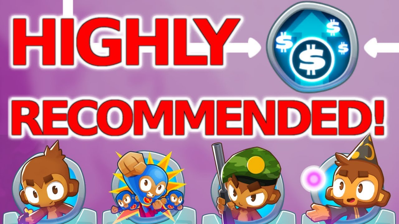 BTD6 HIGHLY RECOMMENDED Monkey Knowledge Upgrade!