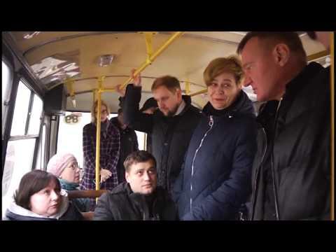 Роман Старовойт лично оценил работу общественного транспорта в Курске
