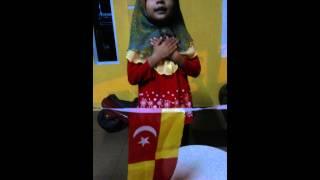 Kemerdekaan Malaysia 2014-alia yasmin