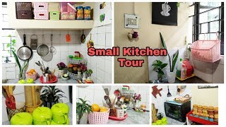 My small kitchen tour || Bangladeshi kitchen tour || kitchen organization ideas || kitchen tour