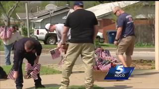 Tecumseh community shows support in wake of officer's death