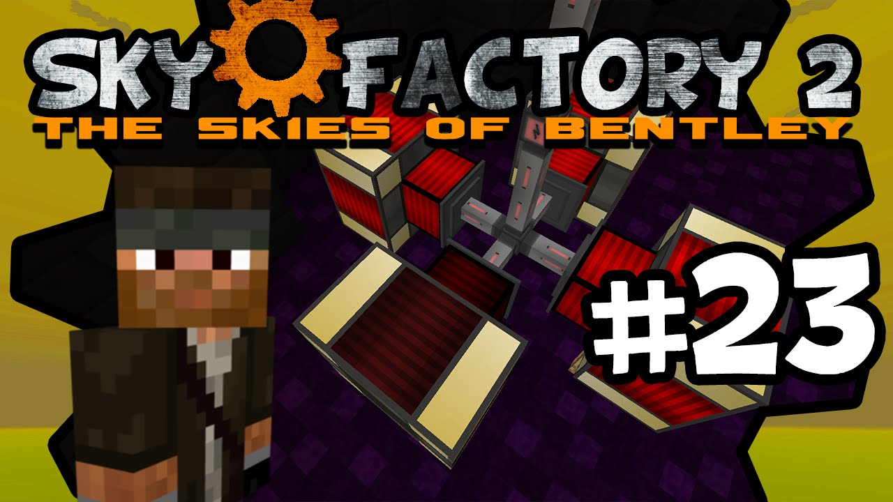 sky factory how to get fe power