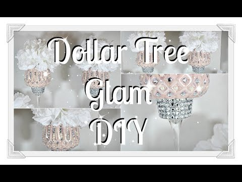 Glam DIY Blush Pink Centerpiece|| Mothers Day Gift Idea