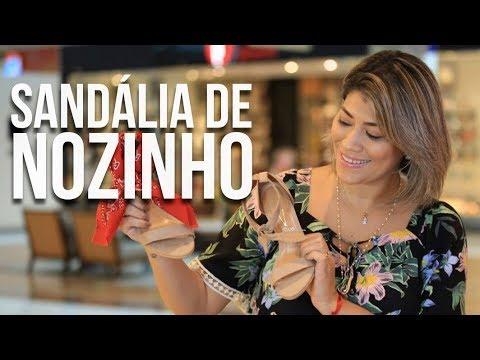 43501545c Sandália com nozinho - Moda Na Passarela com: Nanda Waibel - YouTube