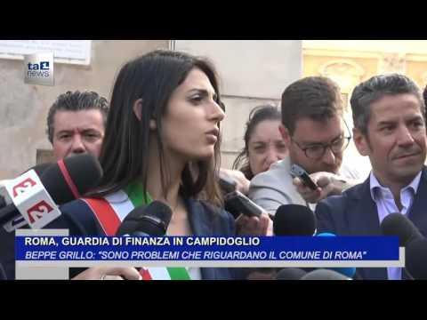 ROMA, GUARDIA DI FINANZA IN CAMPIDOGLIO