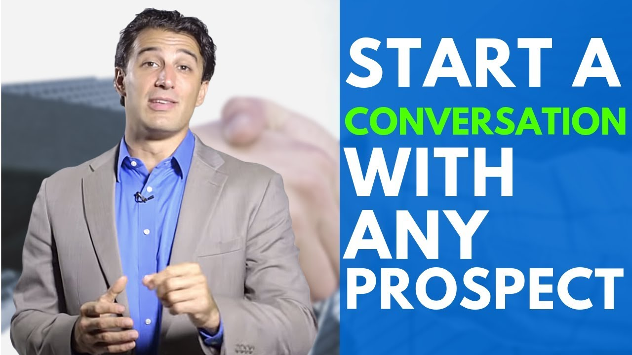 how to start a conversation with a client