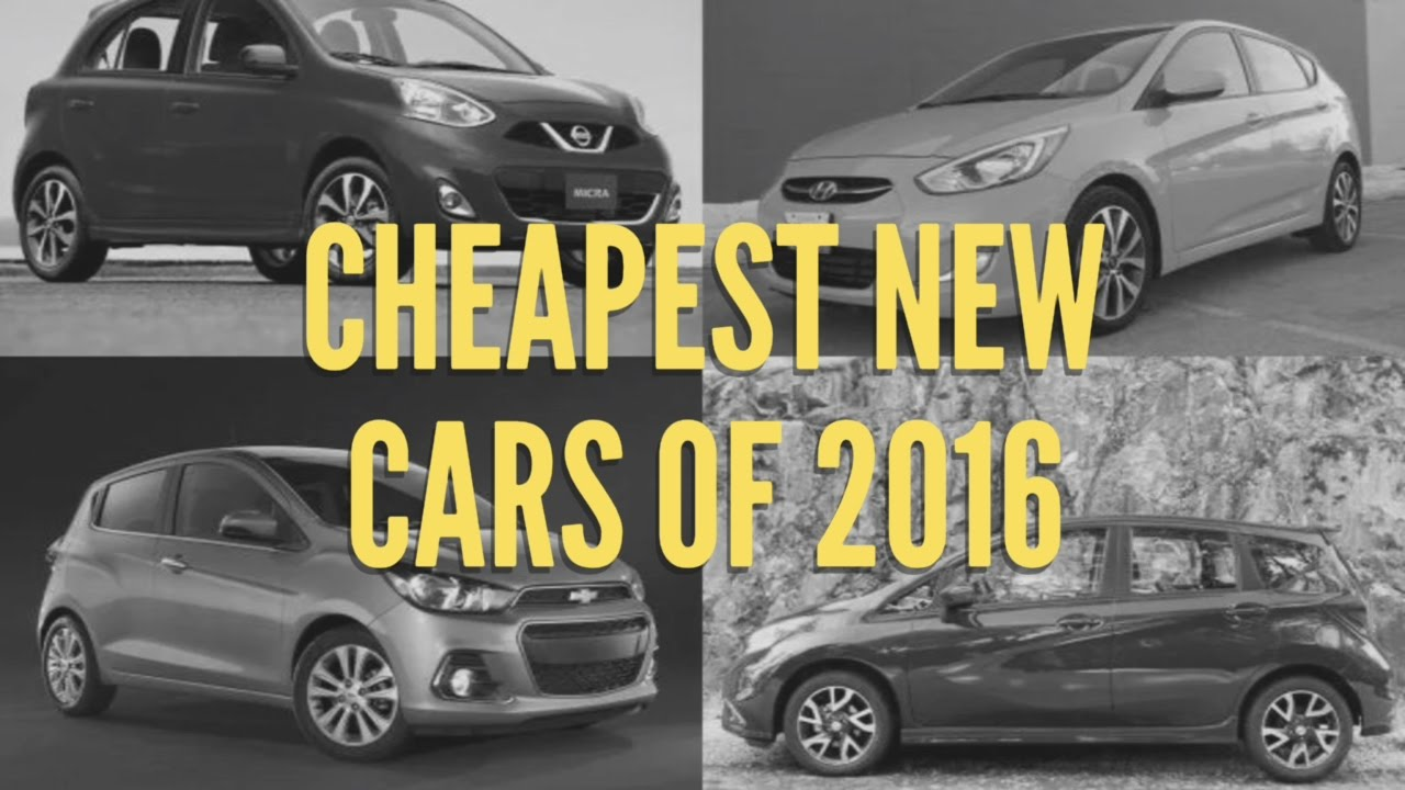 cheapest new cars of 2016 usa best budget cars in america low cost car in 2016 youtube. Black Bedroom Furniture Sets. Home Design Ideas