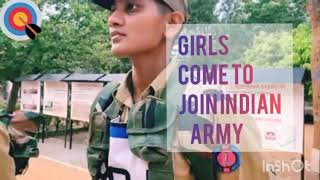 Indian army girls how to join women military police training video selute women 39 s