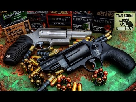S&W Governor vs Taurus Judge Revolver