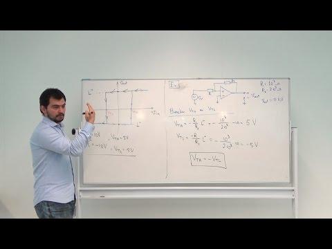 ELONA1 Elektronica Op-Amp's - Les 4 - Comparator & Schmitt Trigger, Mehmet Can, HHS Delft