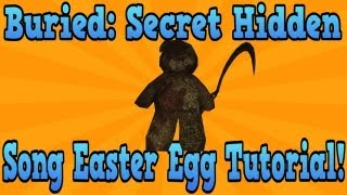 """Black Ops 2 Buried"" Teddy Bear Easter Egg Song Tutorial! (""Black Ops 2 Zombies"")"